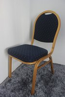 150x BRAND NEW Aluminium Frame Banquet Chairs - Free UK Delivery