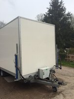 20ft / 6.2m Demount Trailer with Container / Storage Box