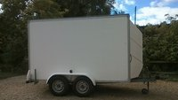 Twin Axle Box Trailer 10x5x6
