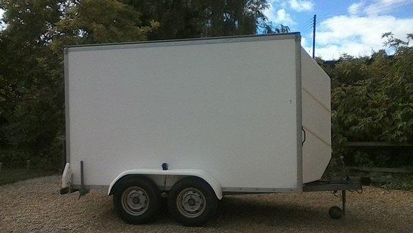 Twin Axle Box Trailer 10x5x6