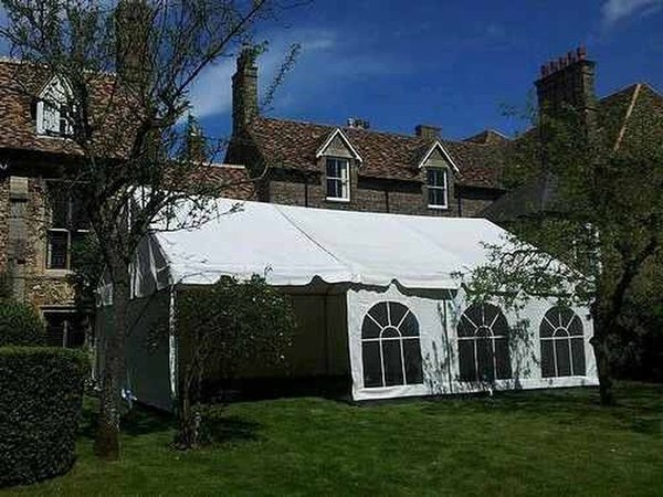 20x120ft Marquee or Two marquees at 40x60ft