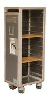 Upcycled Airliner Trolley Bookcase