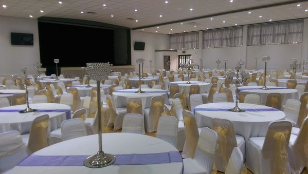 Crystal Globe Table Centre Pieces