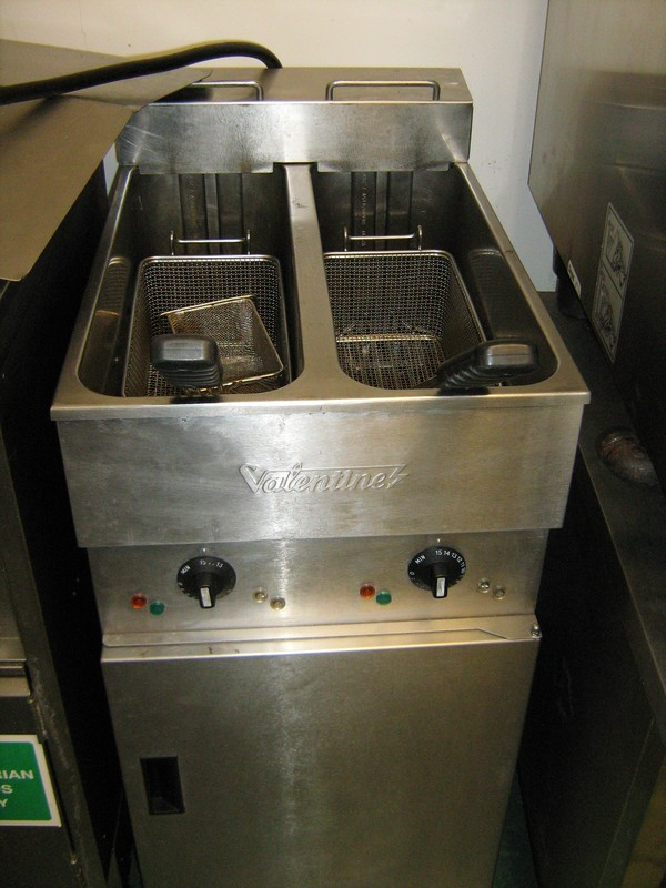 Valentine V2200 Twin Tank Electric Fryer