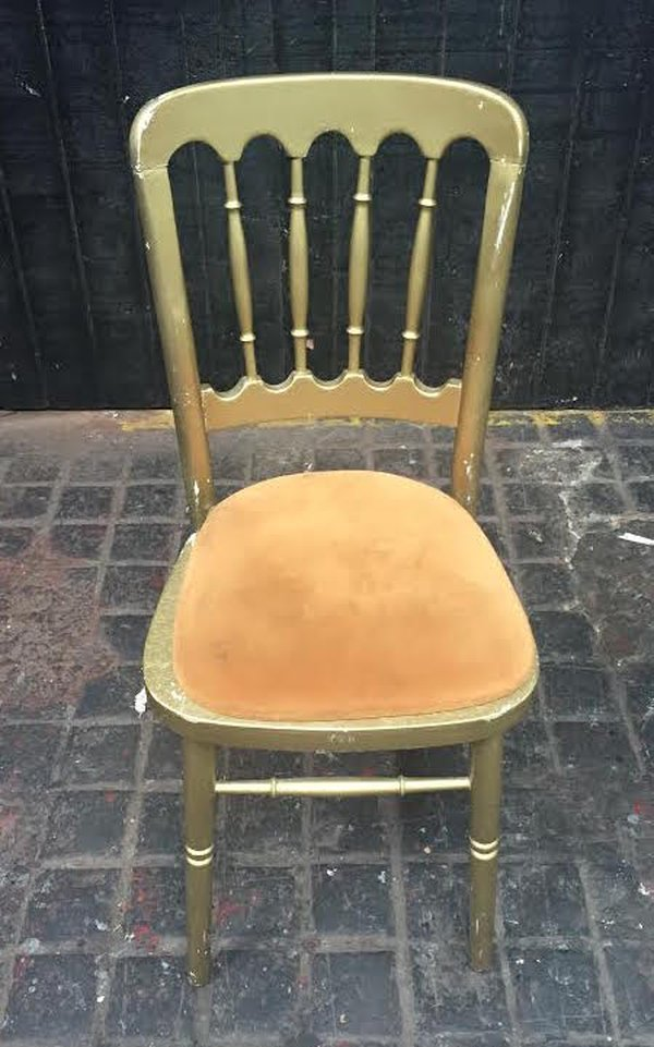 Gold Cheltenham Banqueting Chairs