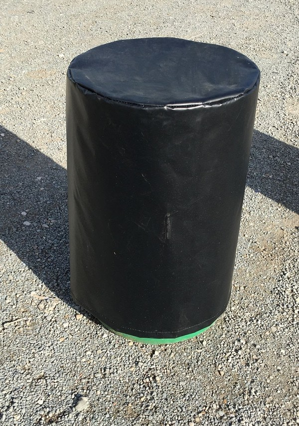 Black marquee weight cover
