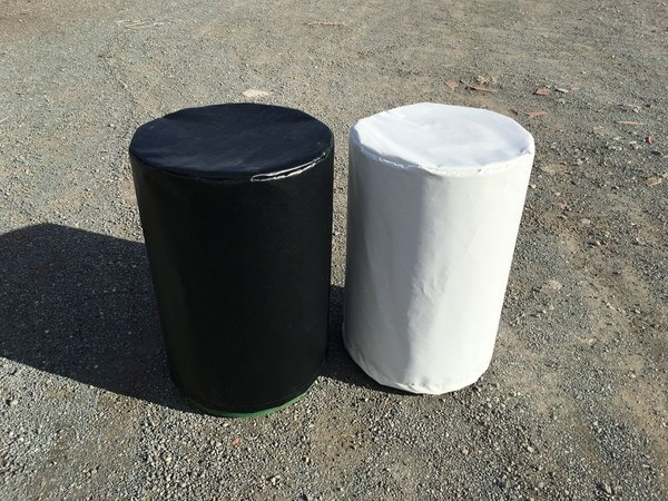 Marquee weight covers