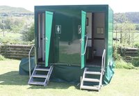 1+1 Luxury Toilet Trailer - Welshpool