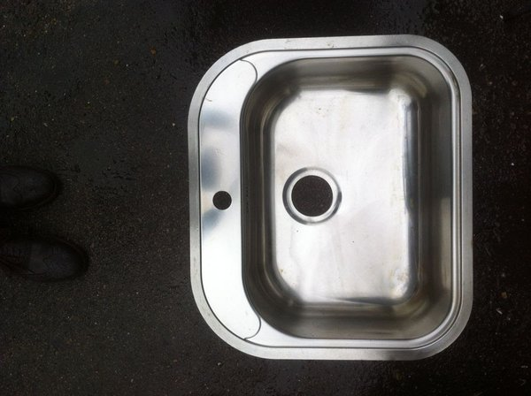 Quality Commercial/Home Stainless Steel Single Sink Inset Bowl