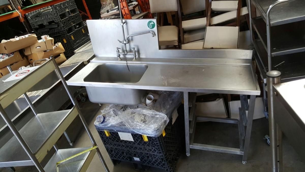 ... Catering Equipment Single Sinks Dishwasher Sink - London