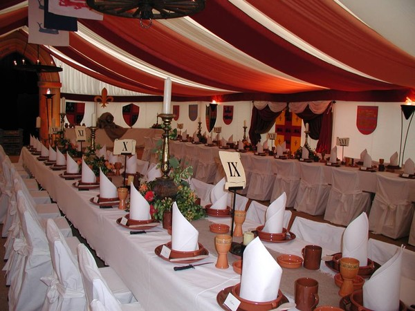 Medieval themed party