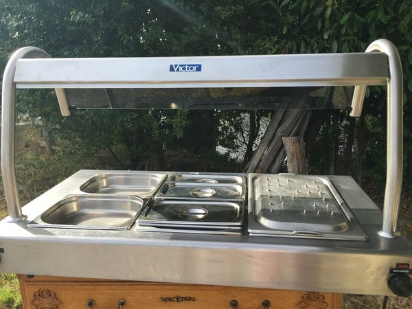 Victor Bain Marie and Carvery Hot Plate Servery