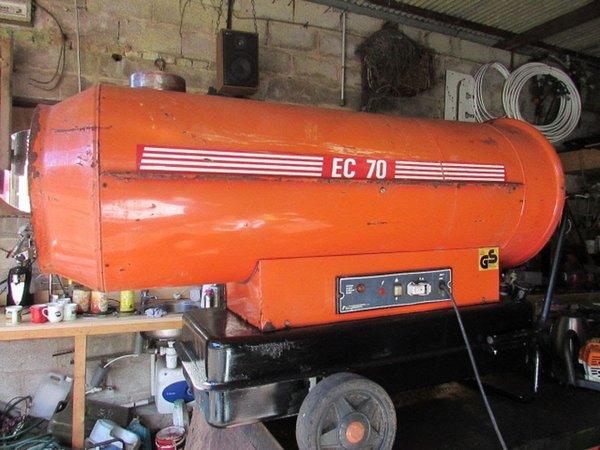 EC70 marquee heater