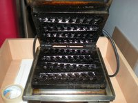 Roller Grill Waffle Press / Grill