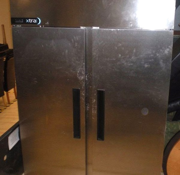 Foster Xtra XR1300L Double Door Upright Freezer