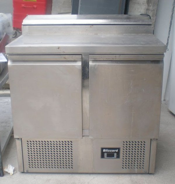 Stainless Steel Saladette Unit