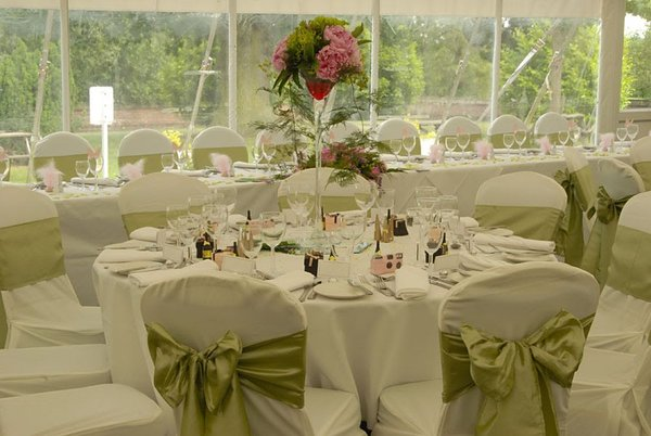 99x Ivory Chair Covers