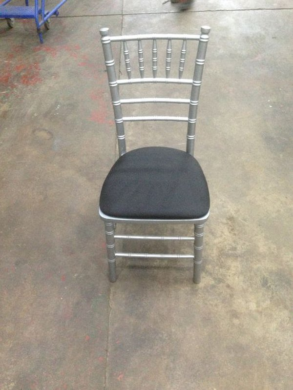 Silver Chiavari chairs for sale