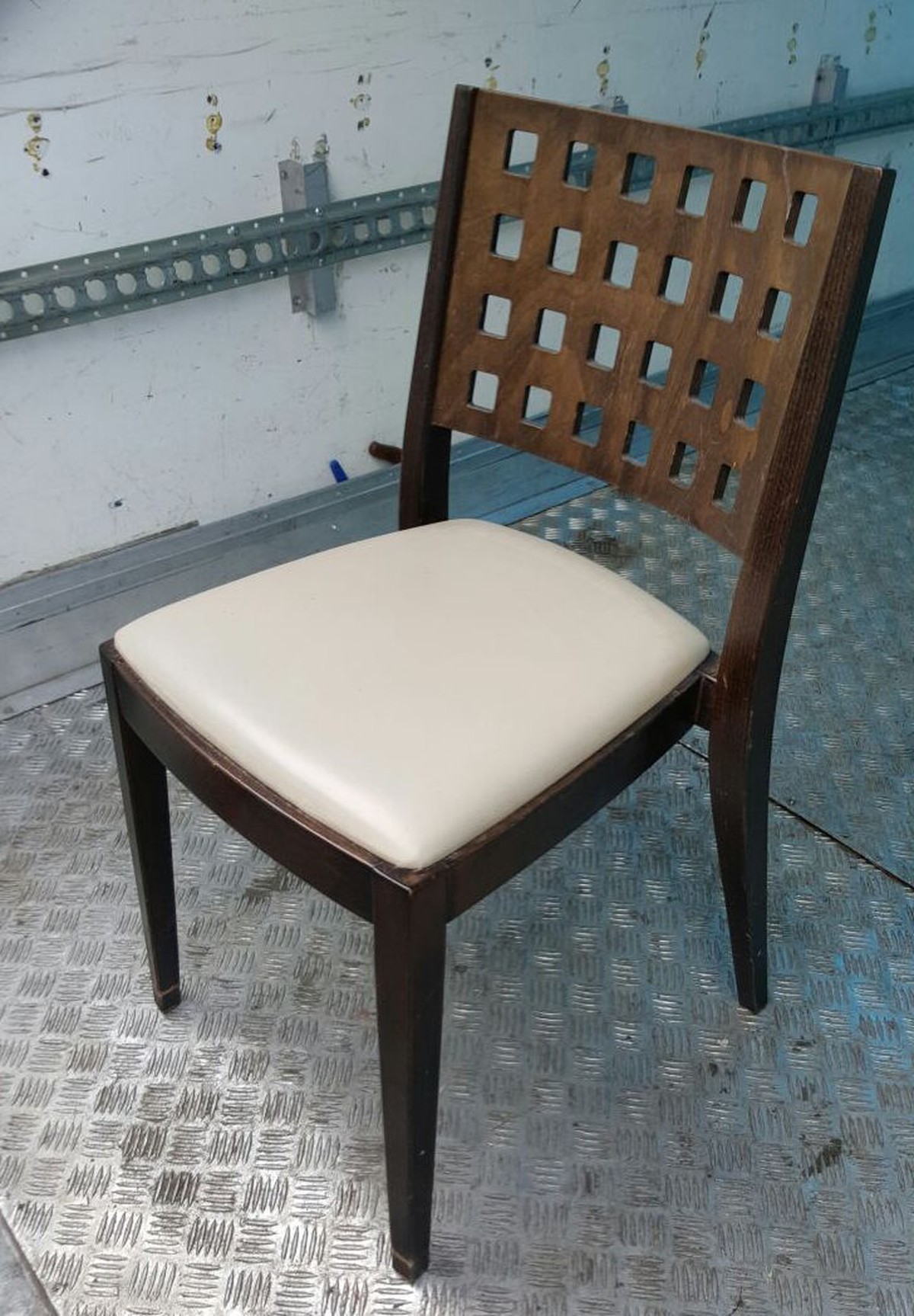Secondhand Chairs And Tables Cafe Or Bistro Chairs 89x Leather Wood