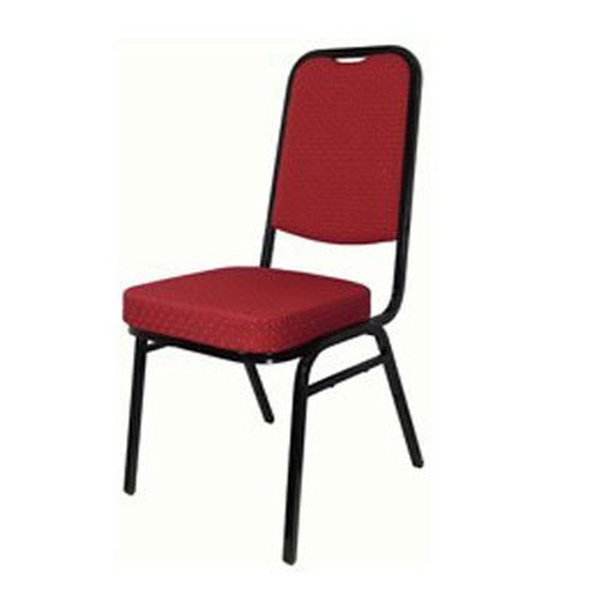 11x Red & Black Square Backed Conference Chair