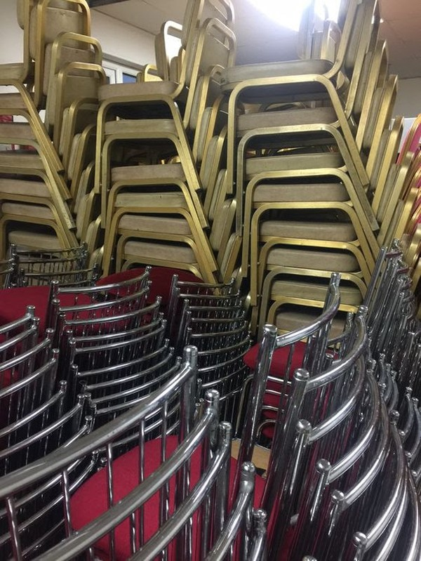 300 Aluminium Burgess Chairs