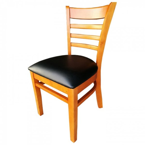Cherry Black Dallas Restaurant Dining Chairs