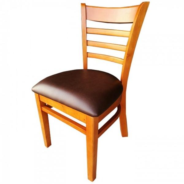 Cherry Dark Brown Dallas Restaurant Dining Chairs
