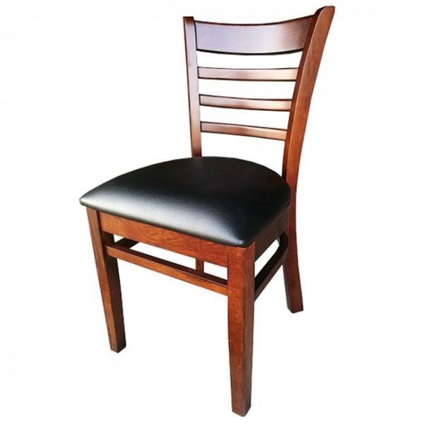 Walnut Black Dallas Restaurant Dining Chairs