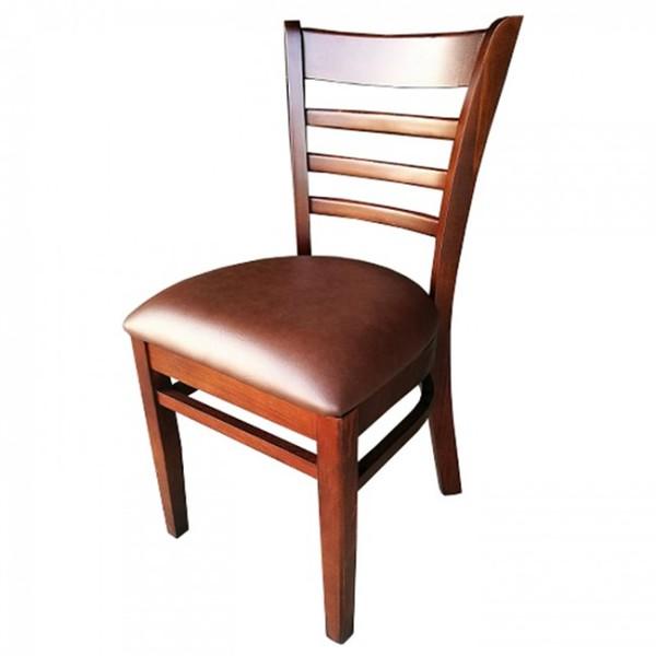 Walnut Dark Brown Dallas Restaurant Dining Chairs