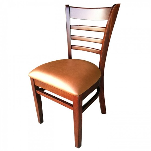 Walnut Light Brown Dallas Restaurant Dining Chairs