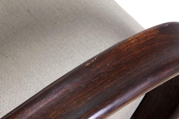 Pair of Art Deco Chairs by Jindrich Halabala c.1930  H: 72cm W: 72cm D: 88cm  Web Item ID: 69492