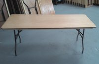 60x 6ftx2ft6 Wooden Trestles