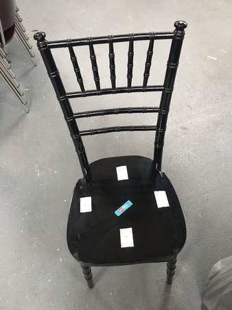 200x Black Chivari Chair