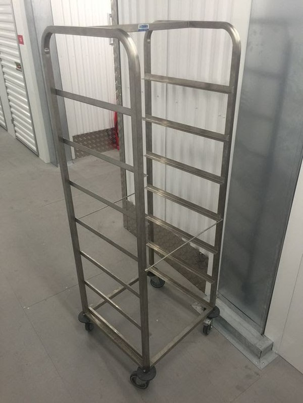 Stainless Steel Dishwasher Basket Trolley (Craven)