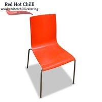 16x Red Plastic Chairs (Ref: RHC1880) - Warrington, Cheshire