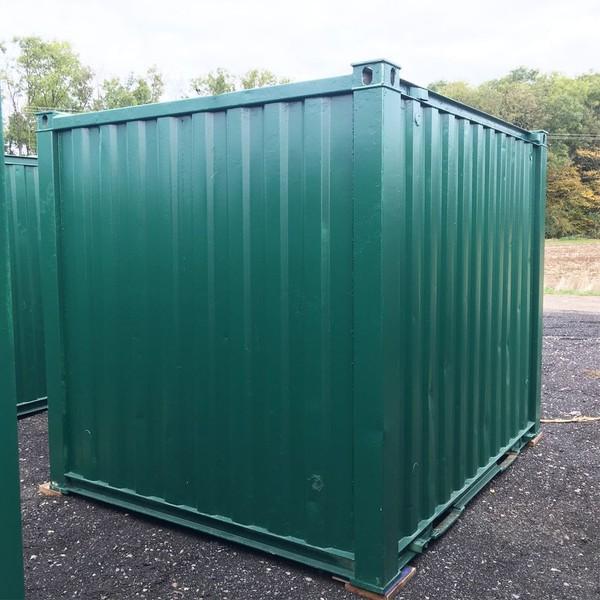 10ft x 8ft Metal Storage Cabin / Site Store / Lockup