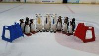 10x Penguins Skating Aids