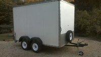 Twin Axle Box Trailer 10x6x6