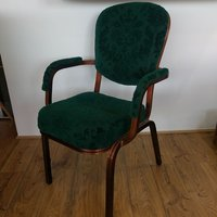 400x Used Aluminium Banqueting Arm Chairs (Code: MF2577)