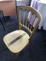 100x Gold Cheltenham Banqueting Chairs