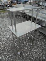 Stainless Steel Table & Gantry Shelf (4097)