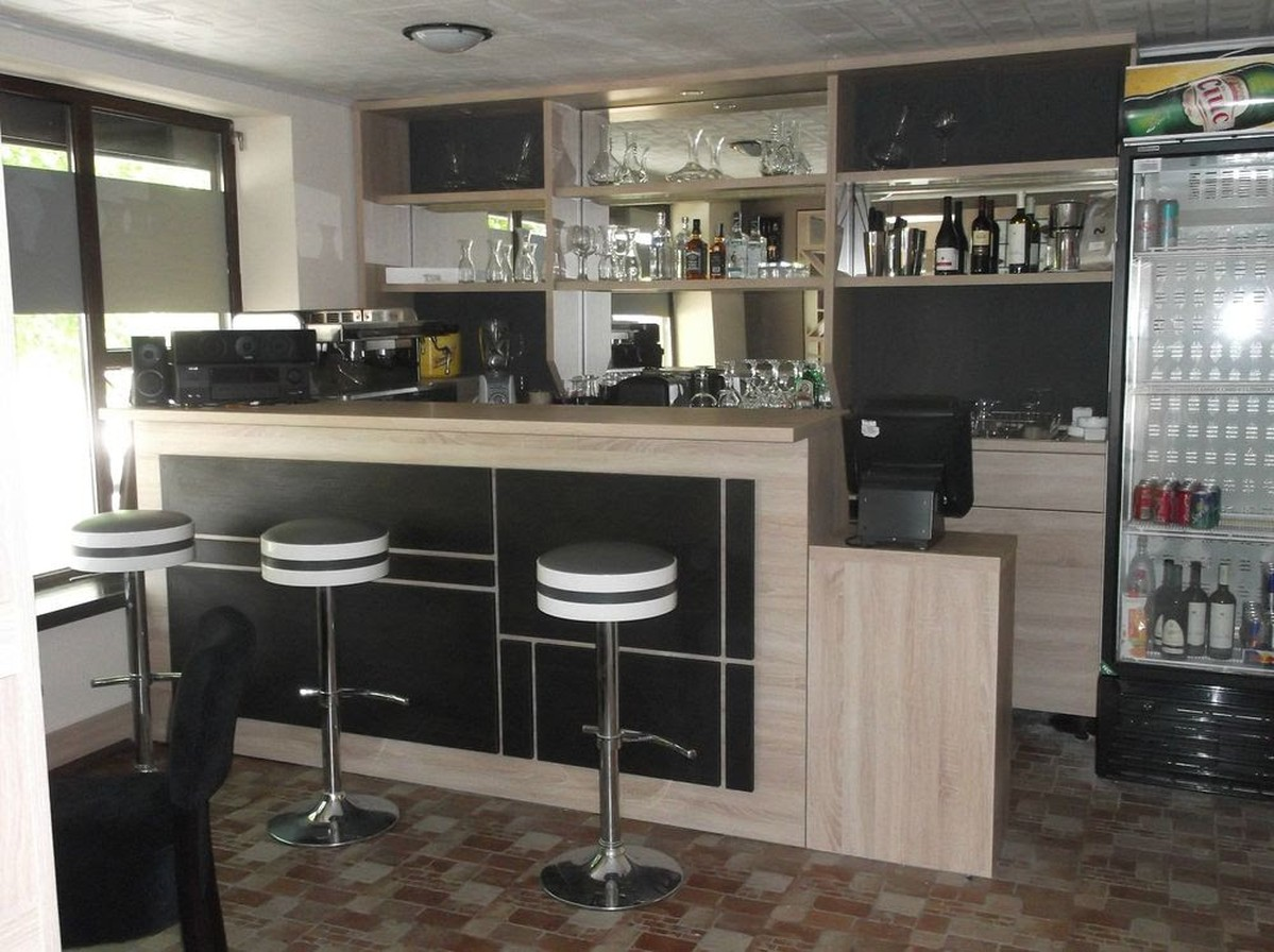 Secondhand chairs and tables bar units coffee