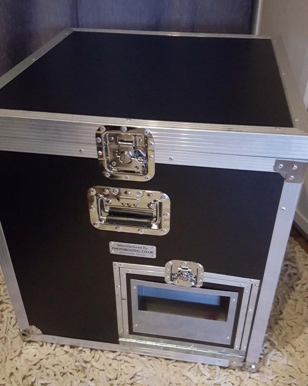 Photo booth flight case