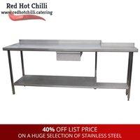 2.1m Steel Bench (Ref: 175) - Warrington, Cheshire