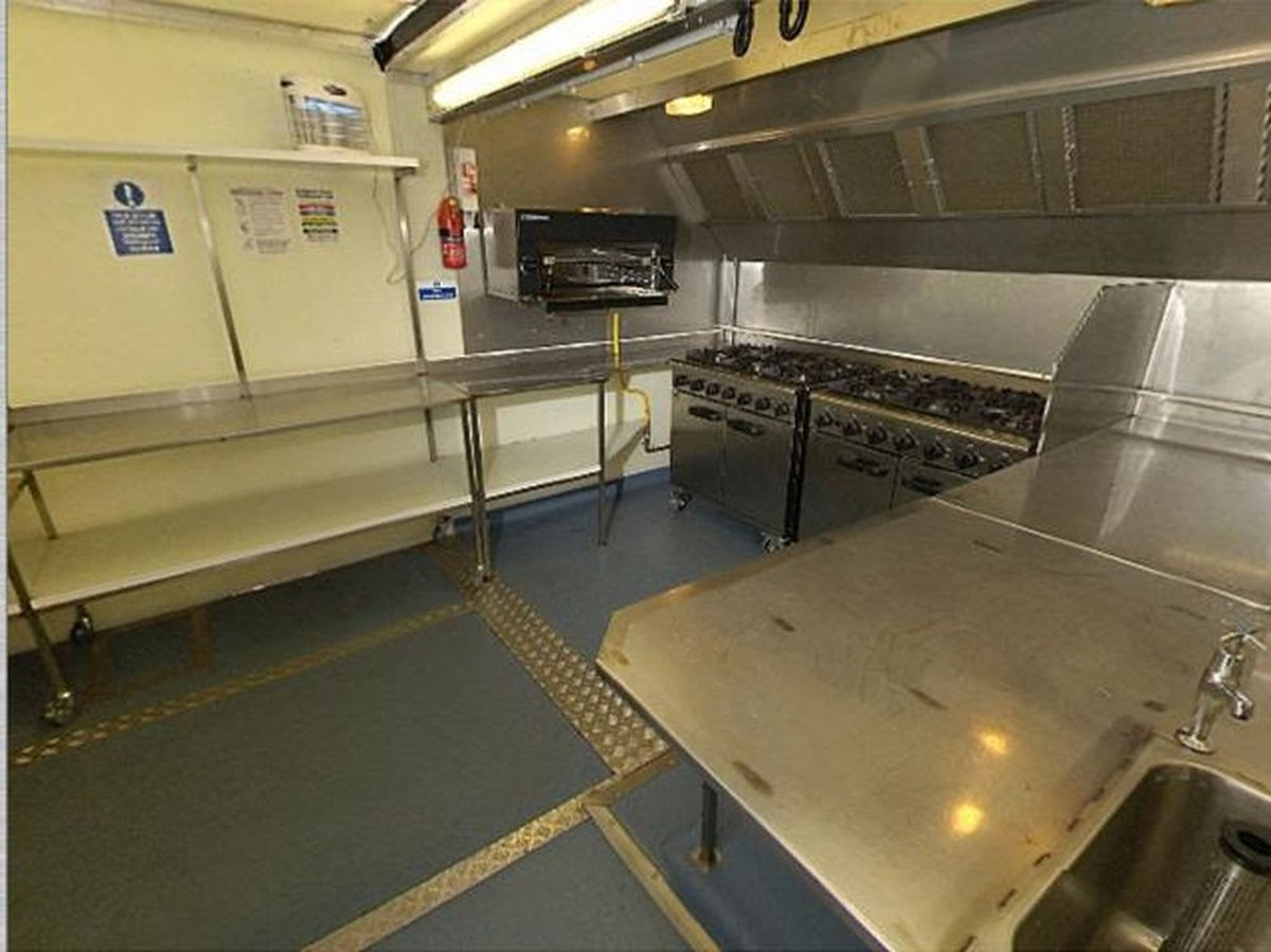 Secondhand Catering Equipment Catering Trailers Mobile . Temporary Kitchen  Flooring ...
