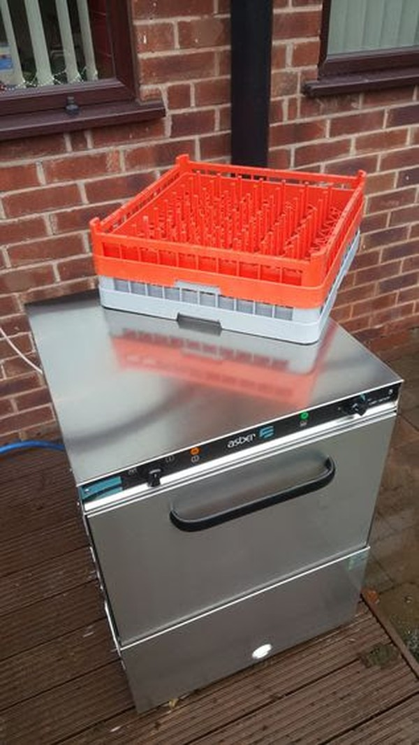Asber Front Loading Glasswasher Dishwasher