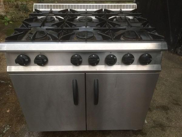 Moorwood Vulcan 6 Burner Cooker / Oven LPG