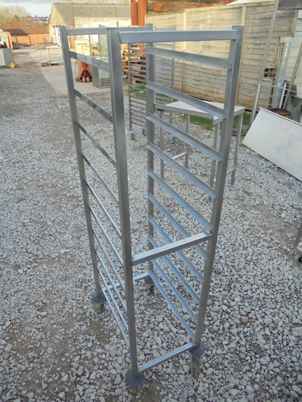 Stainless Steel Gastro Trolley (4152)