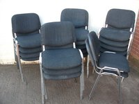 19x Stacking Chairs (Code DC 654A)
