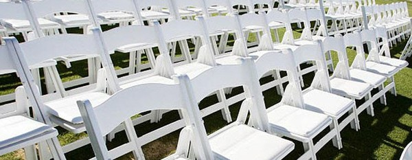 ex hire chiavari or napoleon chairs